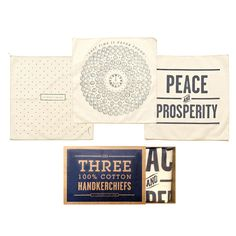 Stars Handkerchief Set Of 3 by Izola - take note, men, another way to have subtle class.