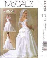 gothic wedding dress patterns