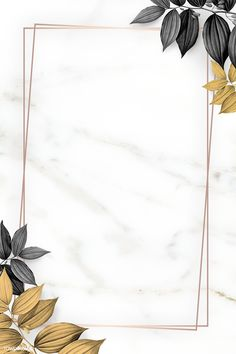 Gold frame with foliage pattern on marble textured background illustration Framed Wallpaper, Flower Background Wallpaper, Textured Wallpaper, Flower Backgrounds, Textured Background, Wallpaper Backgrounds, Wallpapers, Marble Texture, Gold Texture
