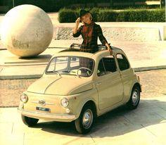 La bellezza del vintage! #fiat500nelmondo #vintage #fiat500 Vintage Cars