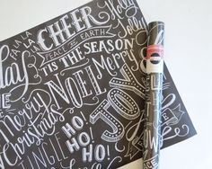 Set of 3 Specialty Holiday Wrapping Sheet Rolls