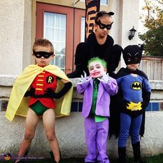 batman friendsenemies halloween costume contest - Joker Halloween Costume Kids