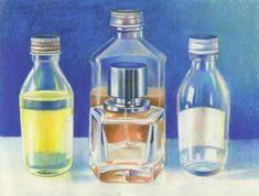 How to Draw Glass using Coloured Prismacolor Premier Pencils | Features | Painters Online