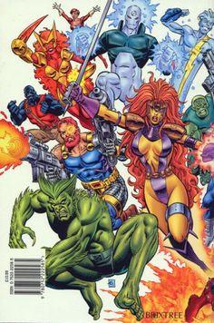 Amalgam Comics Marvel and DC characters merge.. mashup