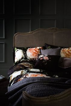 Newgate Clocks Interior Inspiration 2017 | Quirky Grandeur. Think grand Georgian stately home mixing deep rich colours with pops of quirky bright accessories. Image: Marks and SPencer via The Resident