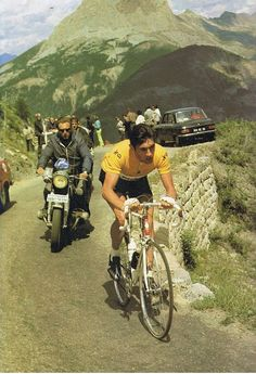 .......Maillot Jeune in the mountains!