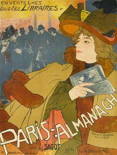 Georges de Feure (Dutch, 1868-1943); Paris Almanach;