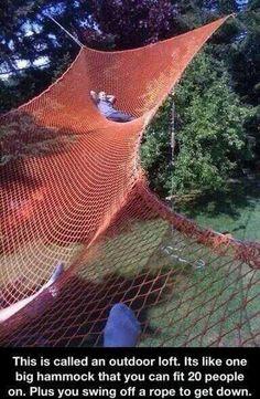 Huge hammock!
