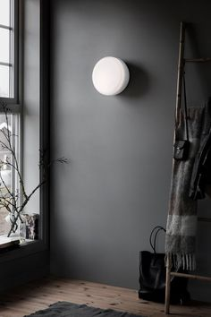 Over Me 30 Taklampe/Vegglampe, Dusty Blue - Northern @ Gray Interior, Contemporary Interior, Interior And Exterior, Interior Lighting, Interior Styling, Lighting Design, Design Online Shop, Berlin Design, Turbulence Deco