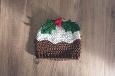 DoraDoes Christmas Pud Hat1