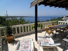 Ganz Etage,4-7 Pers.,Große Meerblick Terrasse,Rasen,ruhigen Teil der Insel, WiFiFerienhaus in Rab von @homeaway! #vacation #rental #travel #homeaway