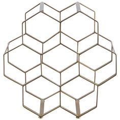 Buy Habitat Honeycomb Wine Rack at Argos.co.uk - Your Online Shop for Wine racks and barware, Kitchenware, Cooking, dining and kitchen equipment, Home and garden.