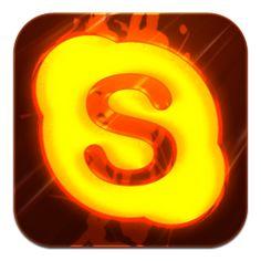 Burning Skype Tile Icon, PNG ClipArt Image | IconBug.com