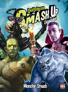 Smash Up: Monster Smash | Board Game | Rules of Play – Rules of Play