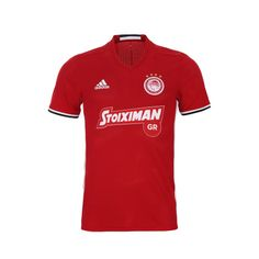 2017/18 Olympiacos Adidas Third Jersey (Red)