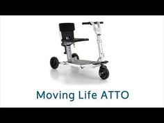 The ATTO is ideal if you regularly use public transport, a convenient and easy to use folding mobility scooter. Learn more, call CareCo FREE on 0800 111 4774 Today! Moving On In Life, Mobility Scooters, Pavement, Public Transport, Baby Strollers, Transportation, Freedom, Learning, Easy