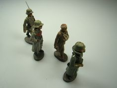 Original Spielzeug Figuren und Geschütz 1.Weltkrieg Deutsches Reich 3.Reich…