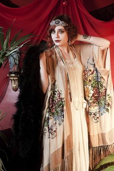 The look I want for a 1920s party.
