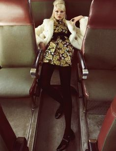 leahcultice:  Ola Rudnicka by Camilla Akrans for Vogue China August 2014