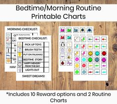 Using a bedtime routine chart with a toddler can be helpful to make the tranisition to sleep go smoother. End bedtime struggles using this prntable visual support with your child.