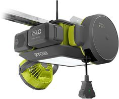 The garage door opener is one of those forgotten devices in your home that's only ever noticed when it breaks. But Ryobi wants it to be the focal point of your garage workshop with modular upgrades that vastly expand its limited functionality. Garage Tools, Garage Shop, Garage House, Diy Garage, Garage Workshop, Dream Garage, Garage Ideas, Workshop Ideas, Garage Kits