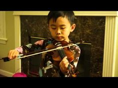 practicing Minuet 2; Still a lot of polishing up to do but I like that he put effort into his practice. See more of young violinist #son_from_vivlum