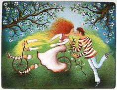 The Long Kiss pieces) Longest Kiss, Naive Art, Art Pictures, Dinosaur Stuffed Animal, Disney Characters, Fictional Characters, Art Gallery, Christmas Ornaments, Disney Princess