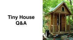 """Q: """"What about financing small houses?"""" A: Getting a loan for a tiny house can be difficult for a variety of reasons: Cost Overruns. Home loans are based on the appraised value a home, not necessar..."""