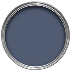 Dulux Timeless Emulsion Breton Blue Eyebrow Makeup Tips Navy Bedrooms, Blue Bedroom, Bedroom Decor, Room Colors, Wall Colors, House Colors, Blue Rooms, Blue Walls, Dulux Timeless