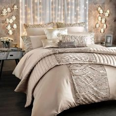 Kylie Minogue Celeste Bedding - Shell