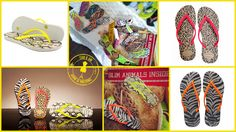 Havaianas animam o nosso Verão com Slim Animals!! O verão vai estar ainda mais colorido com a nova coleção Slim Animals da marca Havaianas. Os padrões animais já são um clássico da marca mas estes produtos têm uma novidade: a tendência néon entra em cena! Aproveita e diverte-te!!!