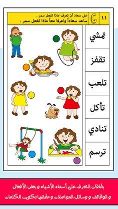 Arabic Alphabet Letters, Alphabet Letter Crafts, Arabic Alphabet For Kids, Alphabet Worksheets, Arabic Verbs, Arabic Phrases, Spoken Arabic, Arabic Lessons, Spelling Activities