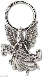 Never Drive Faster Than Your Guardian Angel Fly !