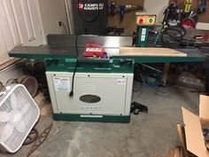 It actually fit in my #smallshop #wacowoodworks #grizzlytools