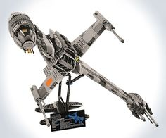 LEGO+Star+Wars+B-wing+Starfighter+|+DudeIWantThat.com