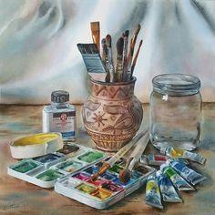 И еще немного этапов работы для #рисуюинструменты . Спасибо за такую интересную и вдохновляющую тему конкурса @krasniy_karandash и @juliabarminova ✔Кому интересно, то участие в конкурсе продлили до воскресенья 22 октября! . #aquarelle #watercolor #акварель #watercolorpainting #process_of_creativity #сейчас_рисую #art_public #topcreator #etudesite #inspiring_watercolors #art_instablog #artcorp152 #talnts #arts_gallery #waterblog #global_artist #art_we_inspire #рисуйкаждыйдень #одинденьсху...