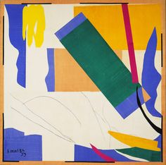 Memory of Oceania / Henri Matisse / Nice-Cimiez, Hôtel Régina, summer 1952-early 1953 / Gouache on paper, cut and pasted, and charcoal on paper mounted on canvas / MoMa