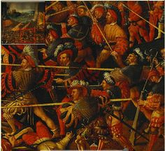 1530 German School - The Battle of Pavia (DETAIL) Source - The Royal Collection