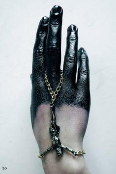 ::: OutsaPop Trashion ::: DIY fashion by Outi Pyy :::: Ivory Jar