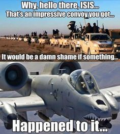 That's An Impressive Convoy You Got... - Military humor