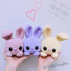 Amigurumi Soft Bear Free-Muster Amigurumi Soft Bear Free Pattern Source by Bunny Crochet, Crochet Mignon, Easter Crochet, Cute Crochet, Crochet Dinosaur, Dinosaur Pattern, Crochet Food, Easy Knitting Projects, Crochet Projects
