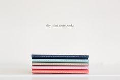 diy mini notebooks