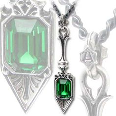 Goth:  #Absinthe ~ A lovely absinthe spoon pendant, by Alchemy Gothic.