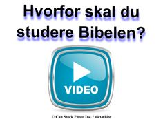Oplev hvordan Bibelen kan hjælpe dig med at finde svar på de vigtige spørgsmål i livet! Venligst se denne film for at få mere at vide:  www.jw.org/da/film-hvorfor-studere-bibelen/  (Discover how the Bible can help you find answers to the important questions in life! Please watch this movie to learn more.)