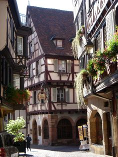 Colmar, france... straight out of Beauty and the Beast