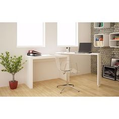 Shop for Accentuations by Manhattan Comfort Innovative Calabria Nested Desk. Get free delivery at Overstock.com - Your Online Office Furniture Store! Get 5% in rewards with Club O!