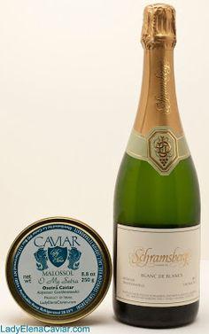 Lady Elena Caviar: Schramsberg Blanc de Blancs with Osetra Caviar fro...