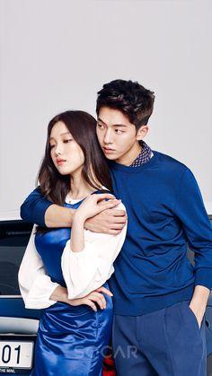 Lee Sung Kyung Wallpaper, Nam Joo Hyuk Wallpaper, Nam Joo Hyuk Cute, Nam Joo Hyuk Lee Sung Kyung, Swag Couples, Cute Couples, Korean Celebrities, Korean Actors, Lee Sung Kyung Photoshoot