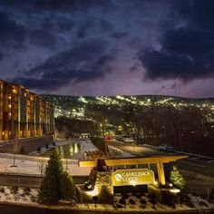 Feel as though you've stepped into a winter wonderland when you arrive at the snow-capped Camelback Mountain Resort, home of the largest snow tubing park in the United States.