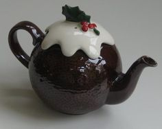 pudding' teapot